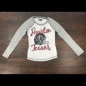 🚨🆕🚨{NFL} Girl's Houston Texans Longsleeve